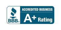 Better Business Bureau A+ Rating Badge