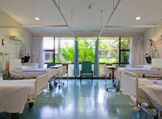 Dallas hospital room
