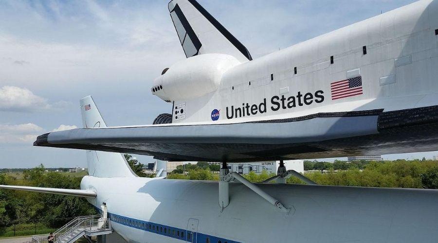 Houston Space center rockets